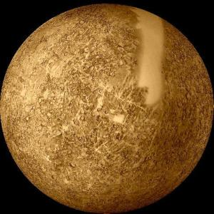 Krateri na Merkuru