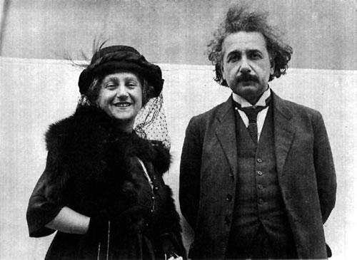 Albert Ajnštajn Elsa-einstein
