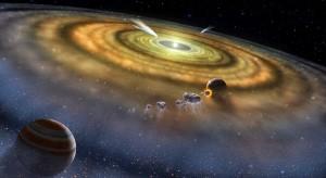 Sunčev sistem na početku