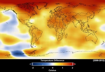 izvor: NASA Goddard Institute for Space Studies/NASA Goddard's Scientific Visualization Studio.