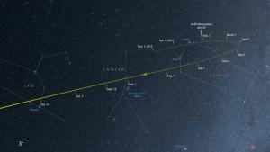 Kretanje kroz sazvežđa - foto: NASA's Goddard Space Flight Center/Axel Mellinger › Larger image