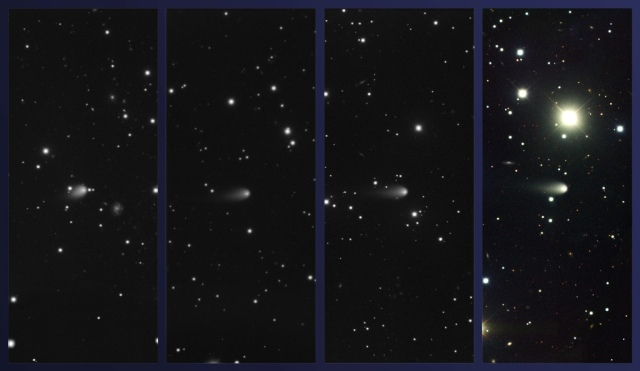 Kometa ISON - foto: Gemini Observatory/AURA