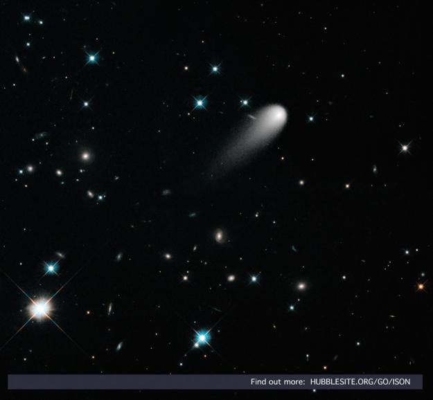 Kometa ISON, 30.04.2013. - foto: hubblesite.org