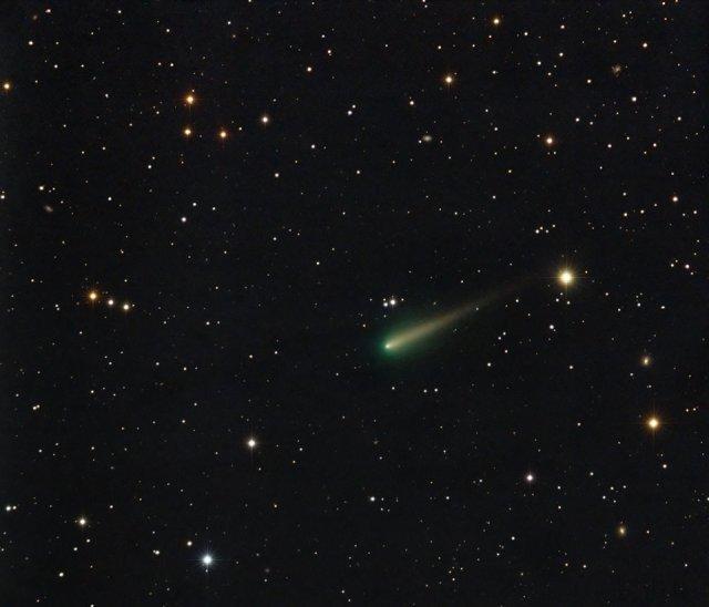 Kometa ISON - foto: Terry Hancock