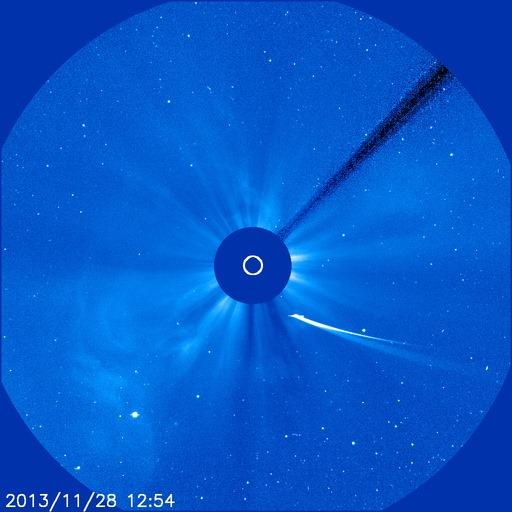 Kometa ISON - foto: NASA