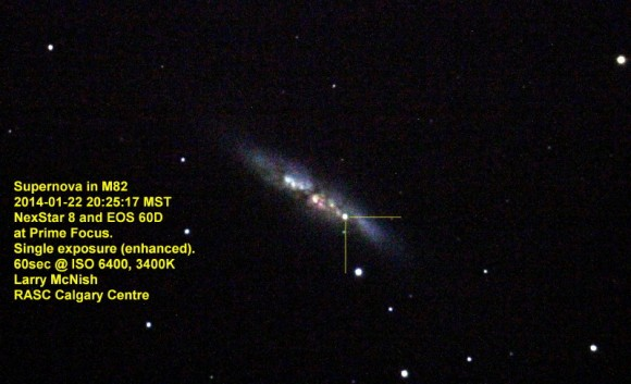foto: Larry McNish, Calgary Centre of the Royal Astronomical Society of Canada