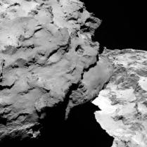 Kometa 67P/Čurjumov–Gerasimenko - foto: ESA