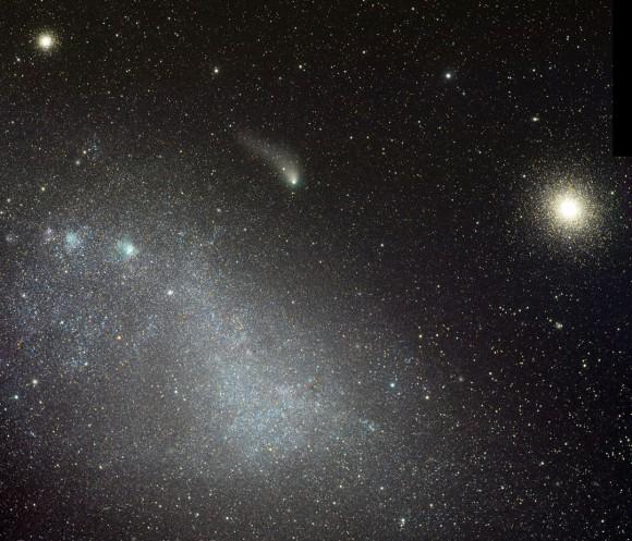 Kometa C/2013 A1 (Siding Spring) - foto: Rolando Ligustri