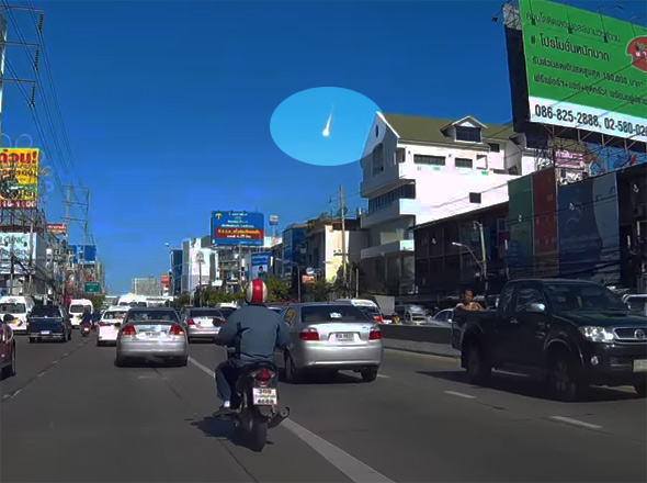 bangkok meteor