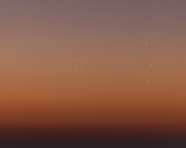 Kometa Catalina snimljena 20. novembra 2015. godine - foto: Ajay Talwar