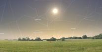 Početak zime i Sunce u sazvežđu Strelac- foto: Stellarium