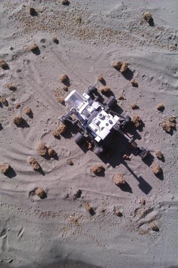 "Rover Curiosity od papira ""na Marsu"""
