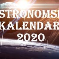 Kalendar astronomskih događaja u 2020. godini