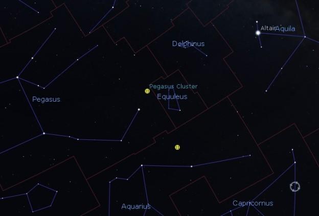 M15 - foto: Stellarium