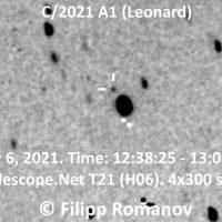 Otkrivena nova zanimljiva kometa!